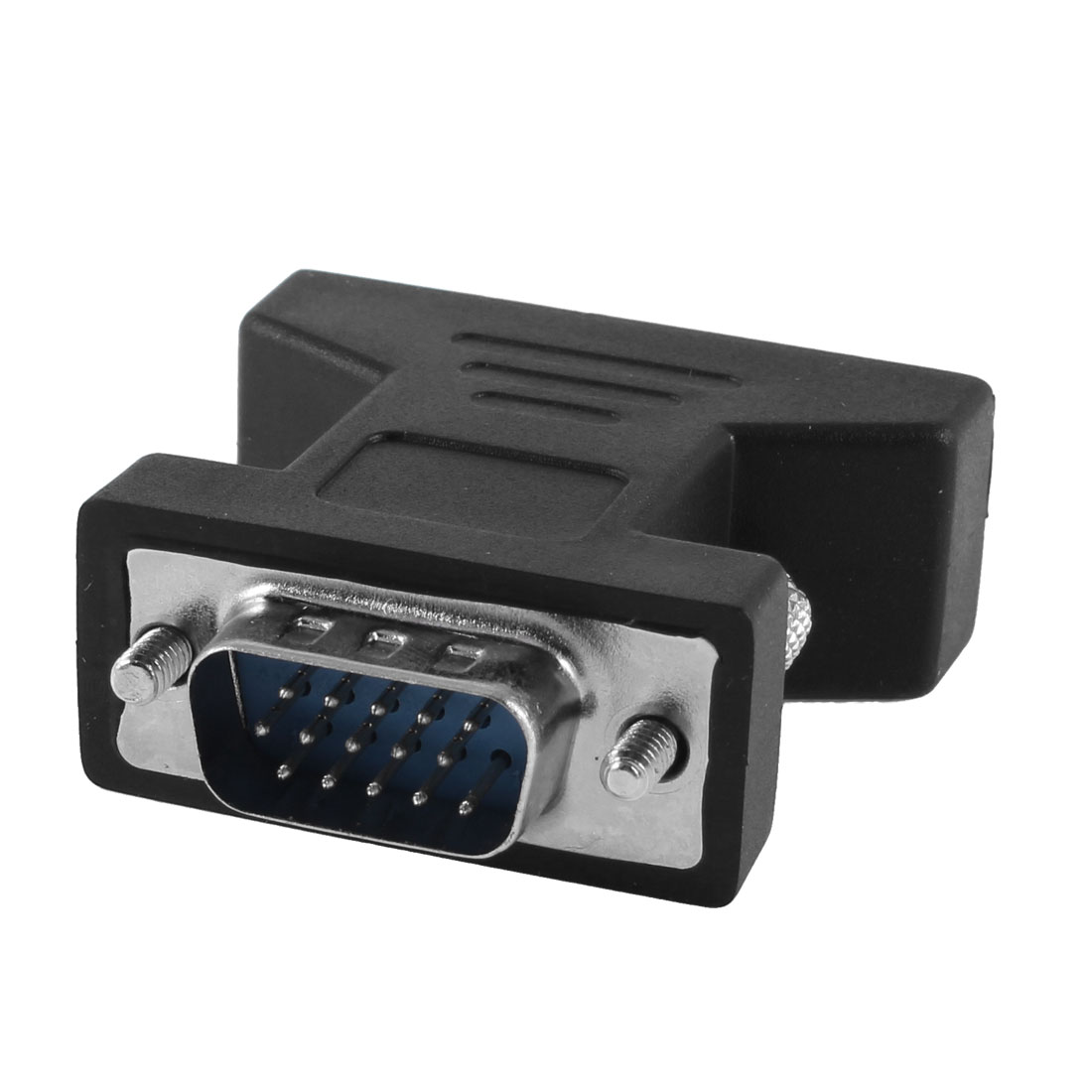 Dual Link DVI-I 24+5 Pin Female to VGA 15 Pin Male Convertor Adapter Black
