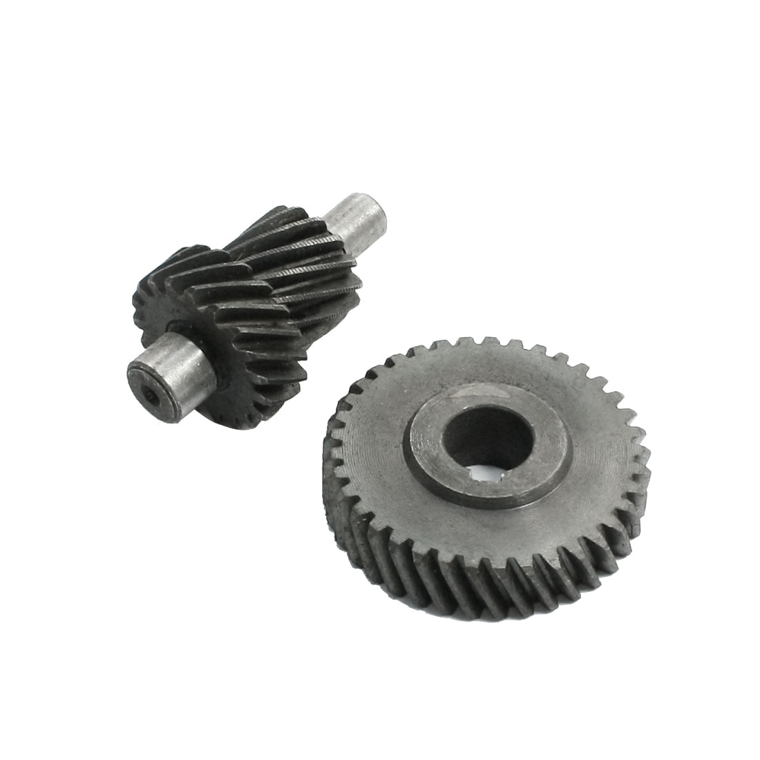 Angle Grinder Repair Component Black Gray 33mmx8mm Spiral Bevel Gear Set