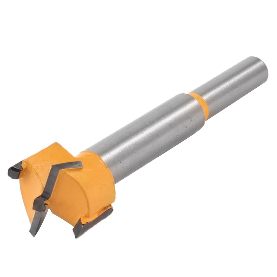 Carpentry 21mm Diameter Forstner Tip Hinge Boring Bit Drilling Tool