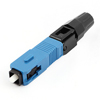 FTTH SC/UPC-P Single Mode Optical Fiber Cable Quick Fast Connector Blue Black