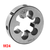 Round Shaped 55mm Outside Dia M24 Coarse Threading Cutting Die