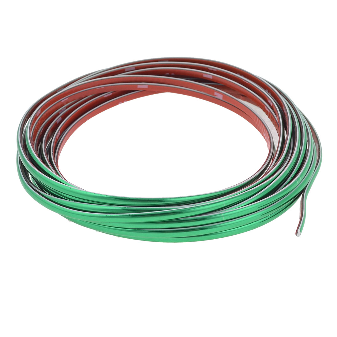 6M x 4mm Green Flexible Plastic Moulding Trim Strip for Auto Car
