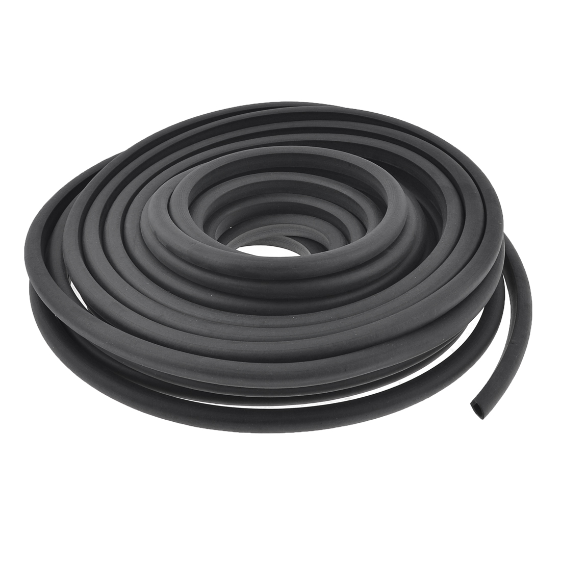 15 Meter D Type Rubber Hollow Air Sealed Seal Strip for Car Door Window
