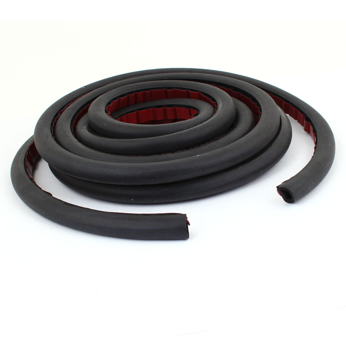 3.2 Meter D Type Rubber Hollow Air Sealed Seal Strip for Car Door Window