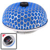 "Car Universal 3"" 76mm Dia Air Intake Filter Mushroom Shape Blue Silver Tone"