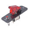Carbon Fibre Ignition Engine Start Push Starter Ignition Switch Panel