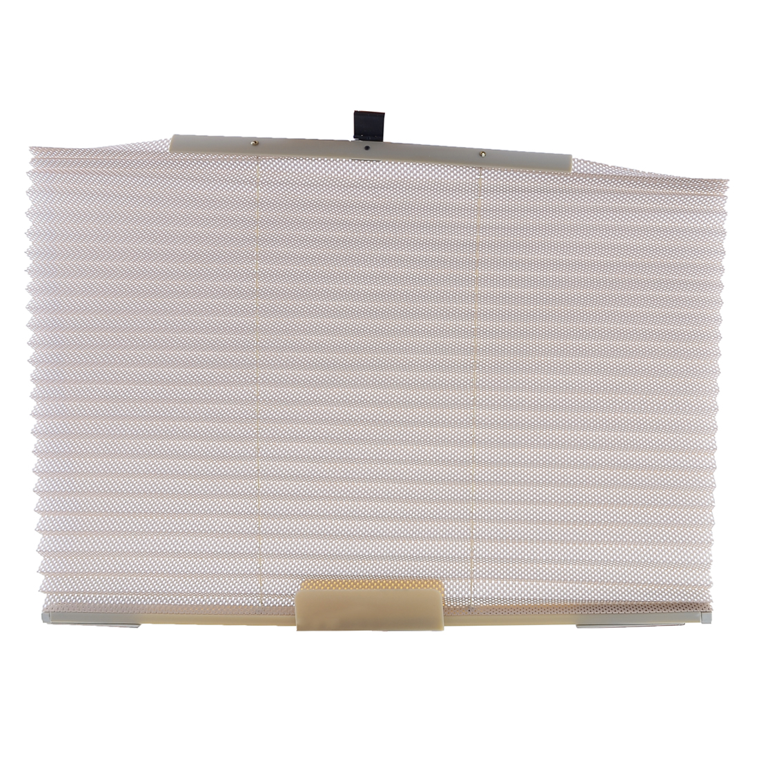 Auto Car Khaki Side Window Folding Retractable Sun Shade 600mm x 450mm