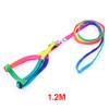 1.2M Long Adjustable Halter Pet Dog Colored Nylon Circle String Pet Dog Leash