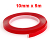 10mm Wide 5m Long Car Dual Side Self Adhesive Clear Tape Roll