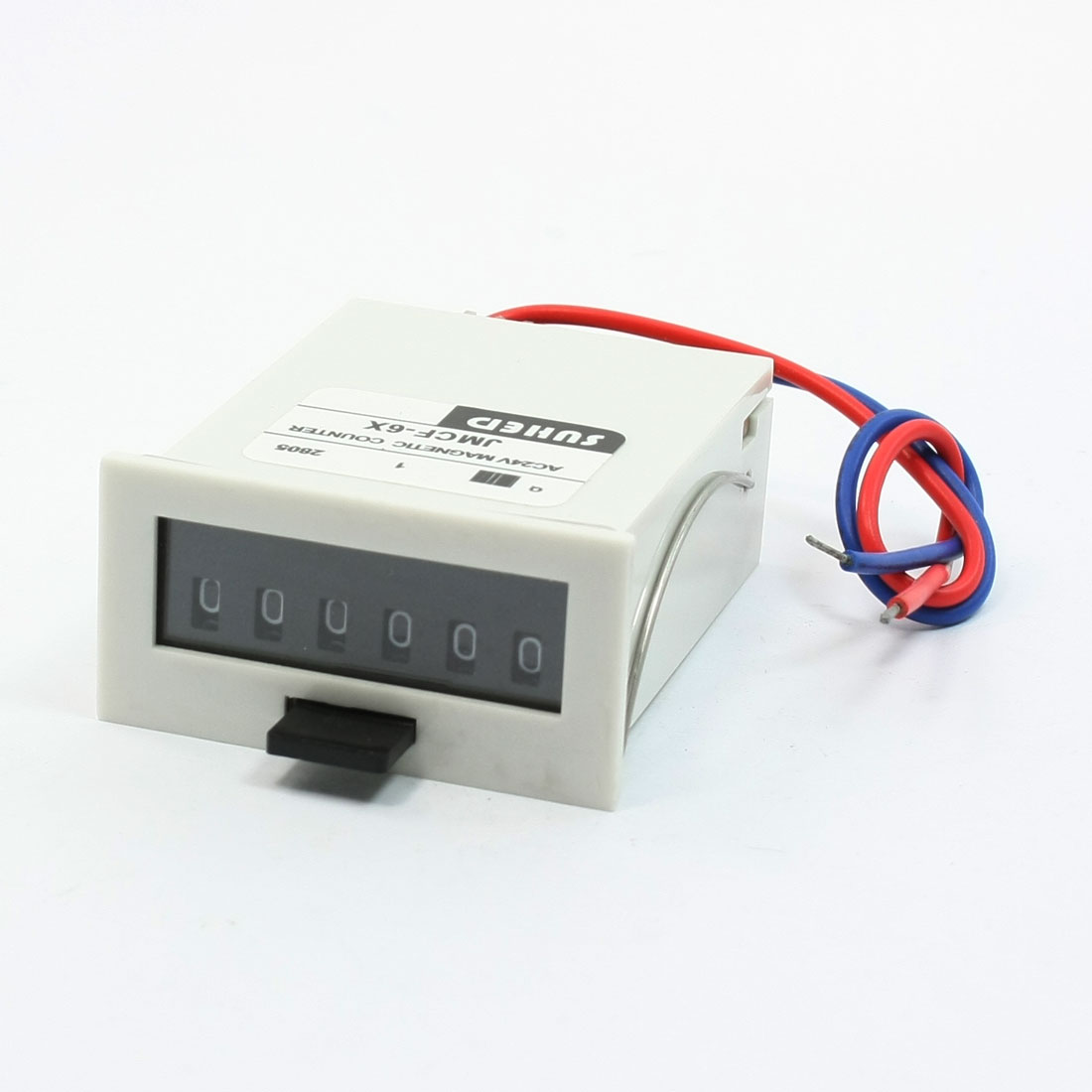 Pressing Reset 0-999999 Counting Range Magnetic Counter 24V DC