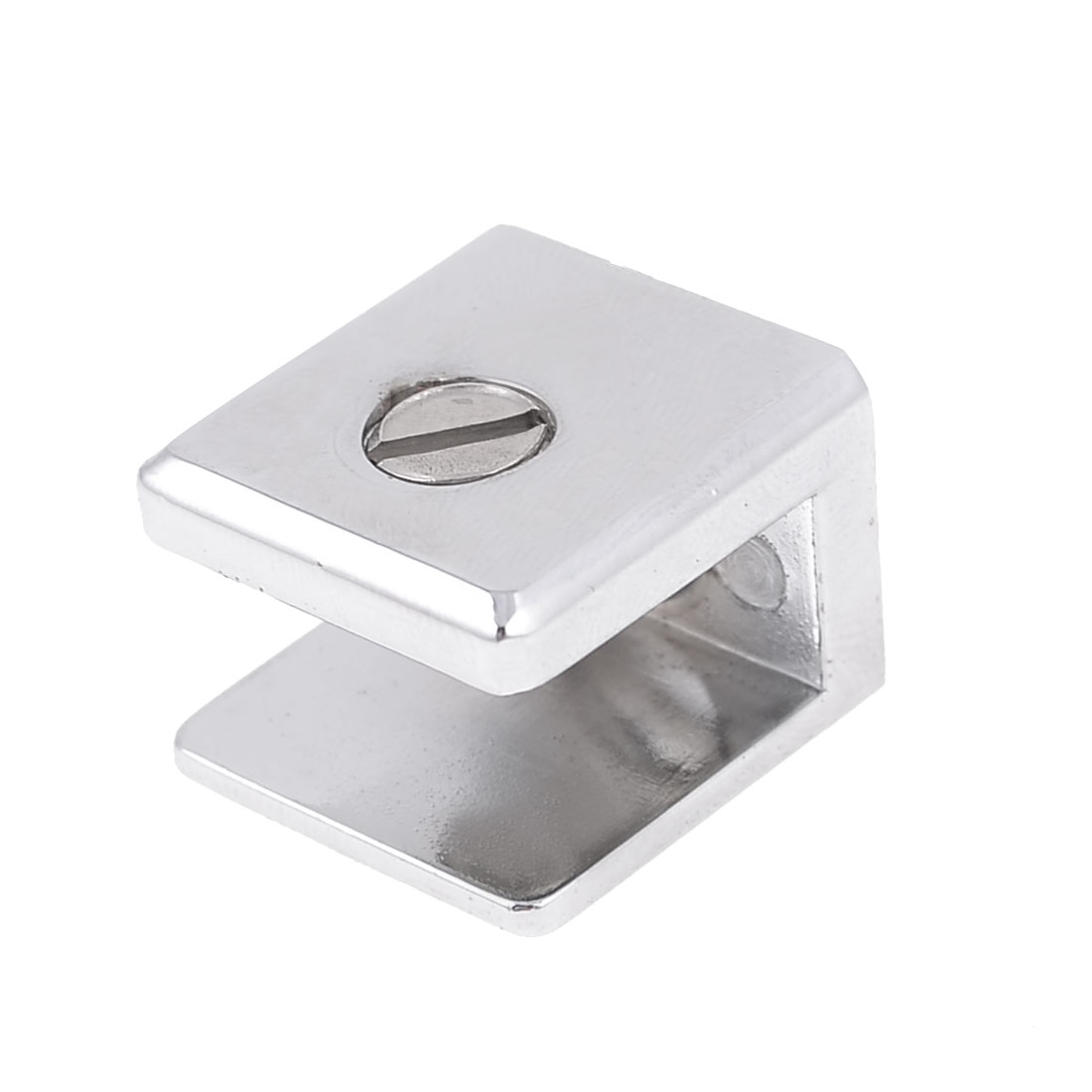 4.3mm Dia Mounting Hole Metal Clip Clamp for 7.7mm-10mm Thickness Glass