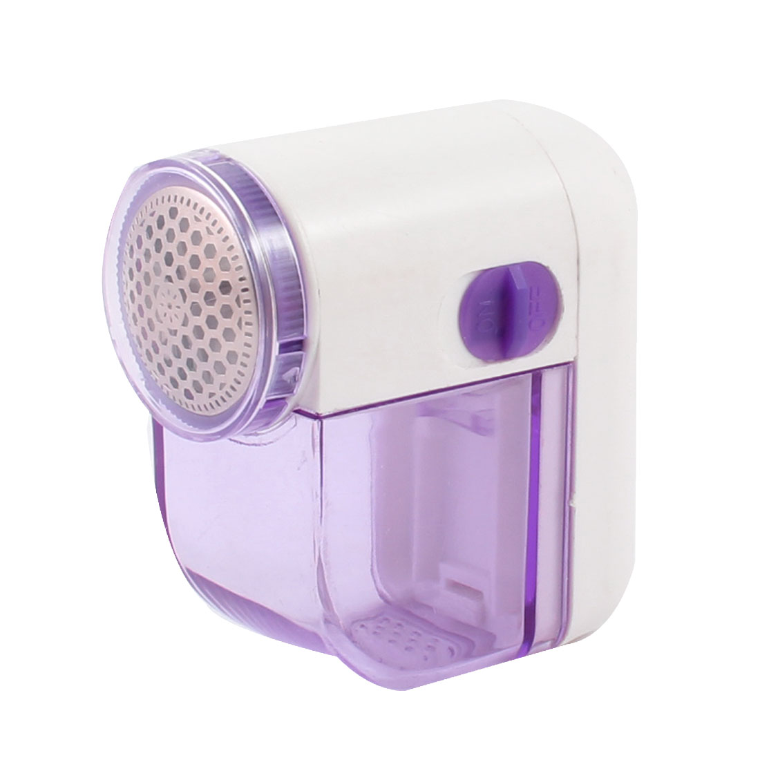 Home Purple White Plastic Fuzz Fabric Lint Remover Sweater Clothes Shaver