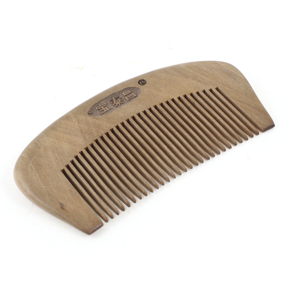 "4.1"" Portable Natural Scented Sandal Wood Hair Care Comb"