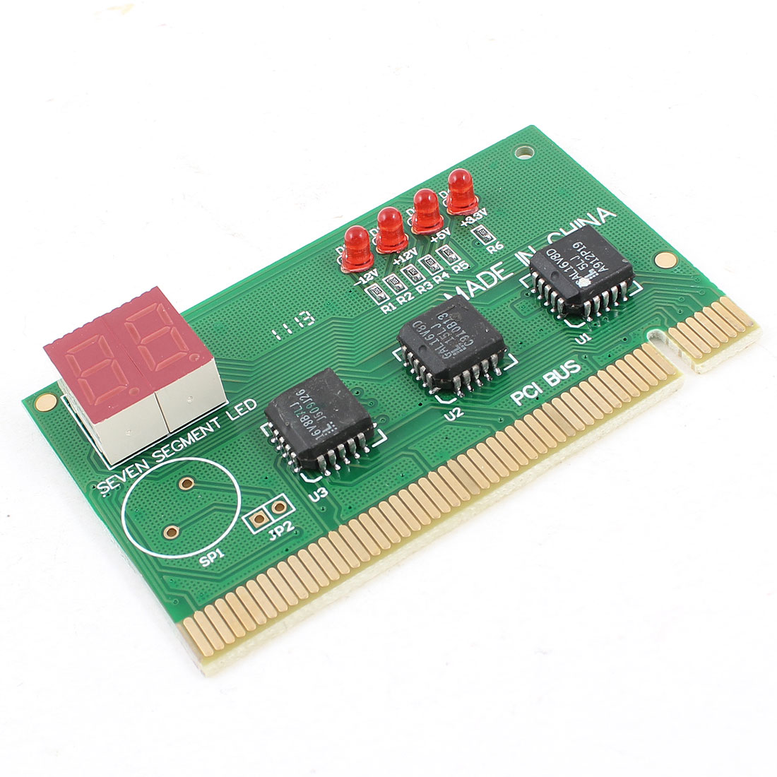 PC Computer PCI 2 Digits Motherboard Post Analyzer Diagnostic Card Tester