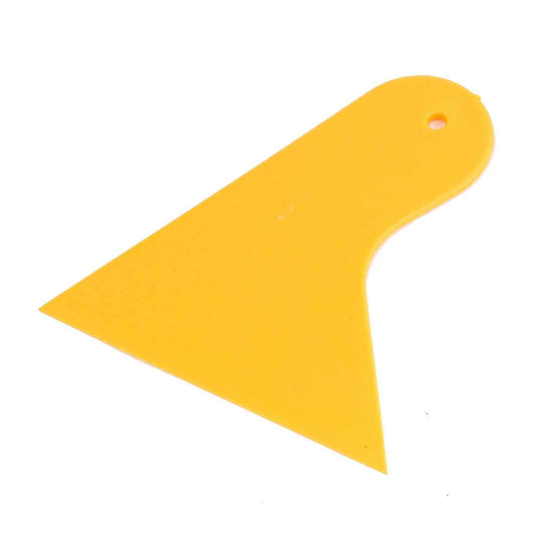 Yellow Plastic Vehicle Truck Car Window Film Tint Scraper Tool 12cm Long