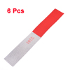 Truck Vehicle Car Exterior Reflective Decals Stickers White Red 6 Pcs