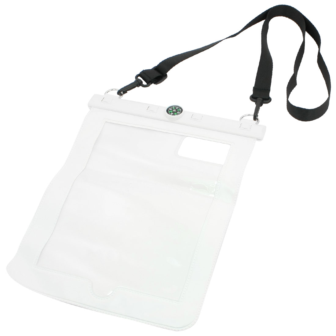 Compass Waterproof Swimming Protective Pouch Case for iPad 2 3 4 w Neck Strap
