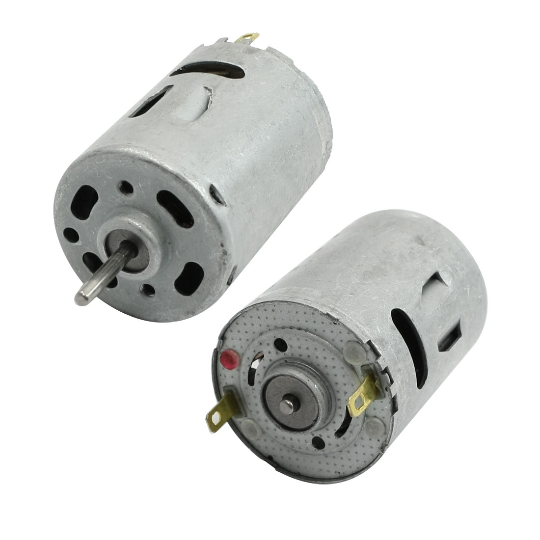 2 Pcs 6V DC 12000RPM 2Terminals Connector 28mm Dia. Mini Motor Replacement
