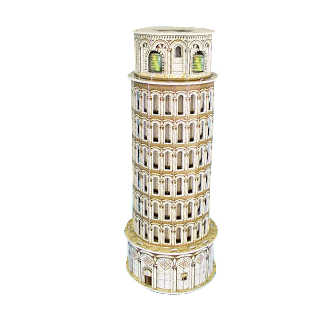 Leaning Tower Model 3D Puzzle Assembled Toy for Children Kids