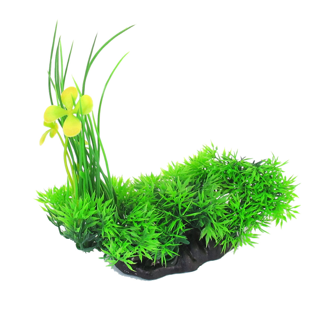 "Green Emulational Fish Tank Aquarium Grass Decoration 6.1"" Height"