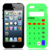 Digits Print Silicone Cell Phone Case Guard Green for Apple iPhone 5G