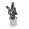 Gray Plastic Wolf Head Shaped Auto Car Cigarette Lighter DC 12V