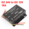 DC 24V Input to 12V 15A Output Car Power Supply Transformer Converter