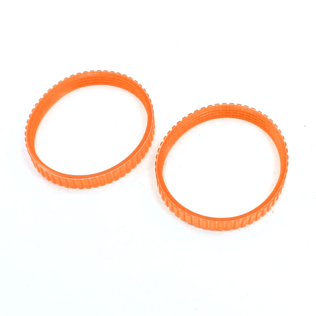 2pcs Electric Planer Drive Orange PU Belt Band for Hitachi F20