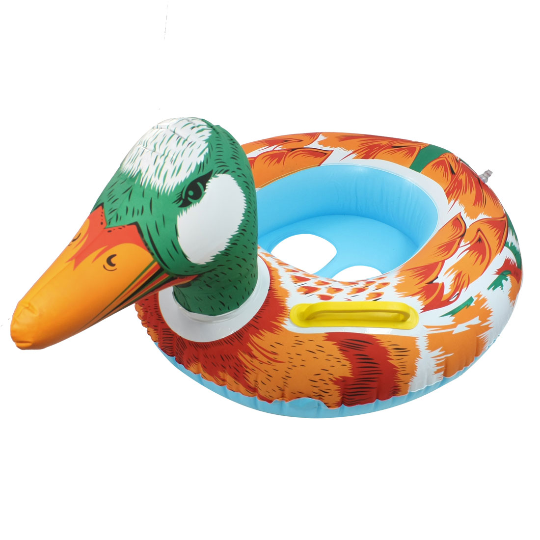 Blue Duck Design Swimming Ring Swim Float Seat Boat for Baby Toddler