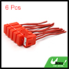 Auto Vehicle Sound Audio Inline ATC Vane Fuse Holder Red x 6