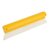 Yellow Clear 27cm Silicone Blade Car Window Film Scraper Cleaner Tool