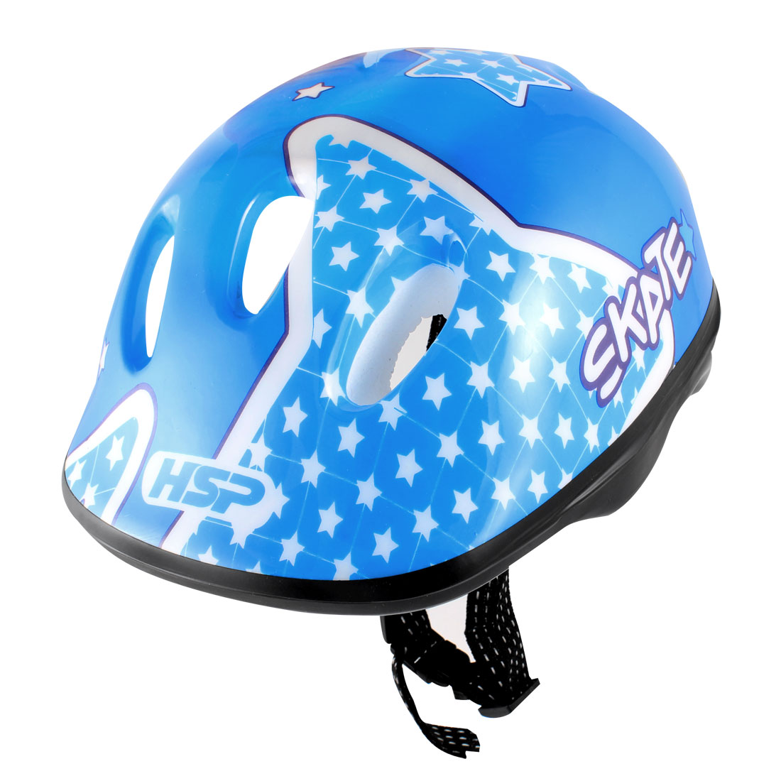 Star Boy Pattern Blue Cycling Skating Sports Safety Helmet for Children