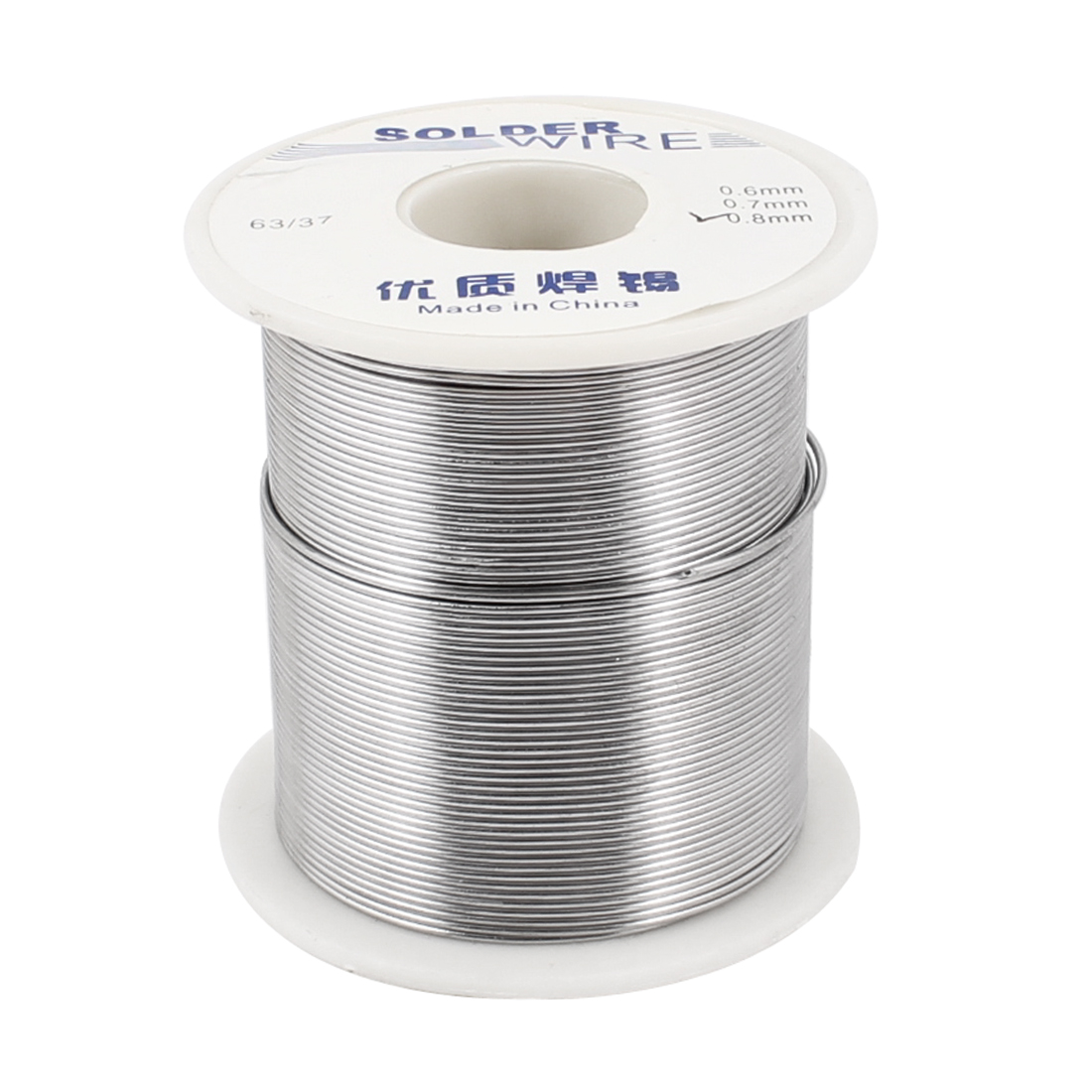 0.8mm Dia 63/37 Tin Lead Roll 1.8-2.2% Flux Soldering Solder Wire Reel 180g