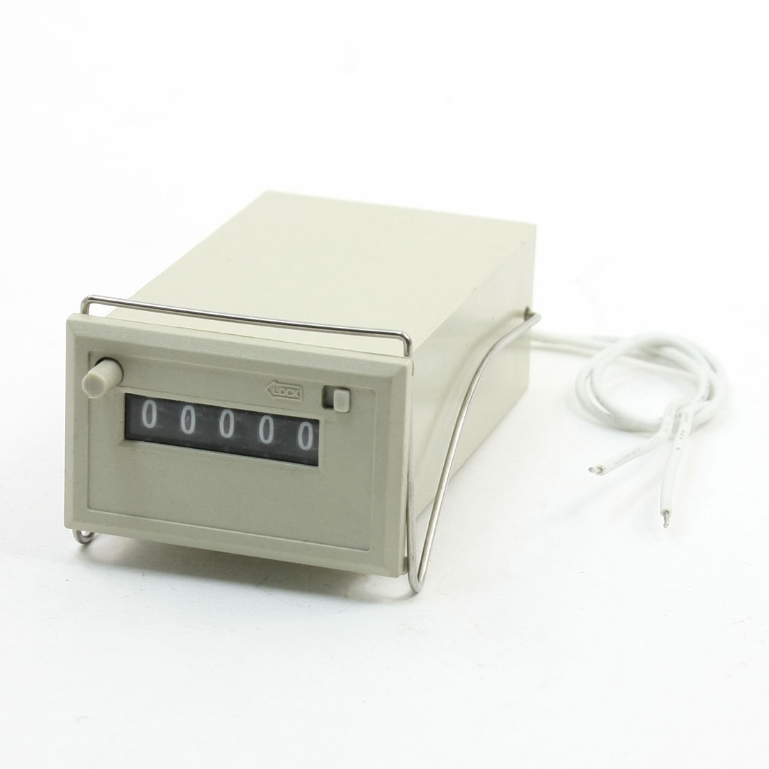 Electrical Count 5 Digit Electromagnetic Counter 220VAC CSK 5-NKW