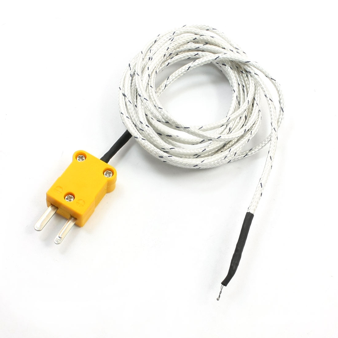 K Type Temperature Controller Earth Thermocouple Probe 400C 6.6Ft