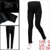 Motherhood's Adjustable Waist Fashion Warm Solid Black Leggings XS