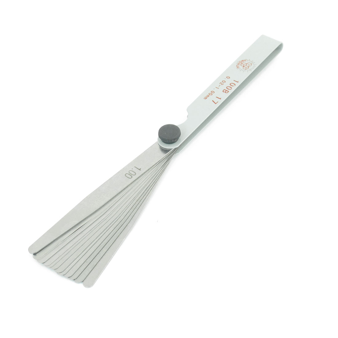 19cm Length 0.02-1mm Metric Gap Measure Filler Feeler Gauge Tool