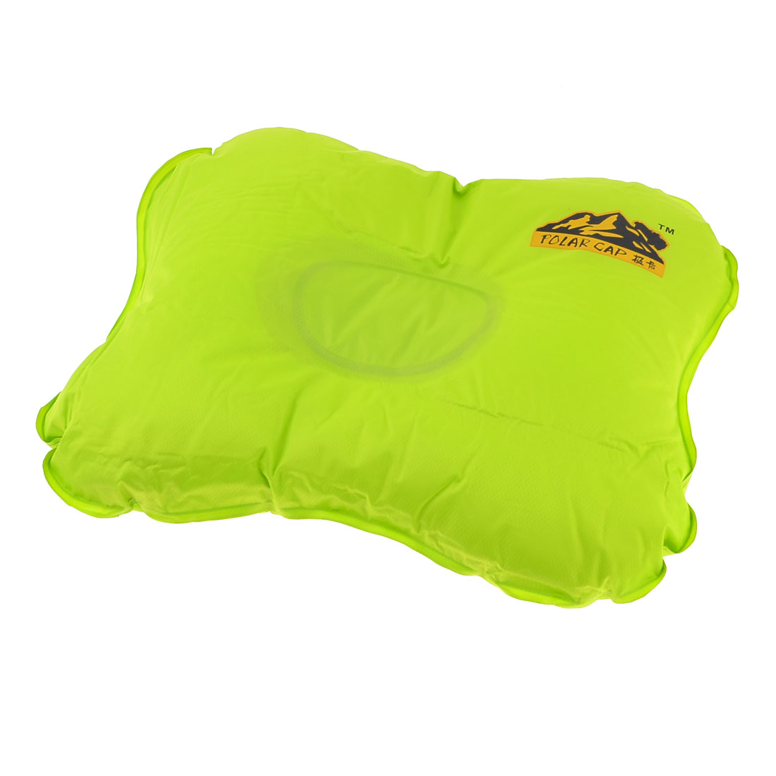 Light Green Automatic Inflatable Pillow Waist Back Seat Cushion for Car