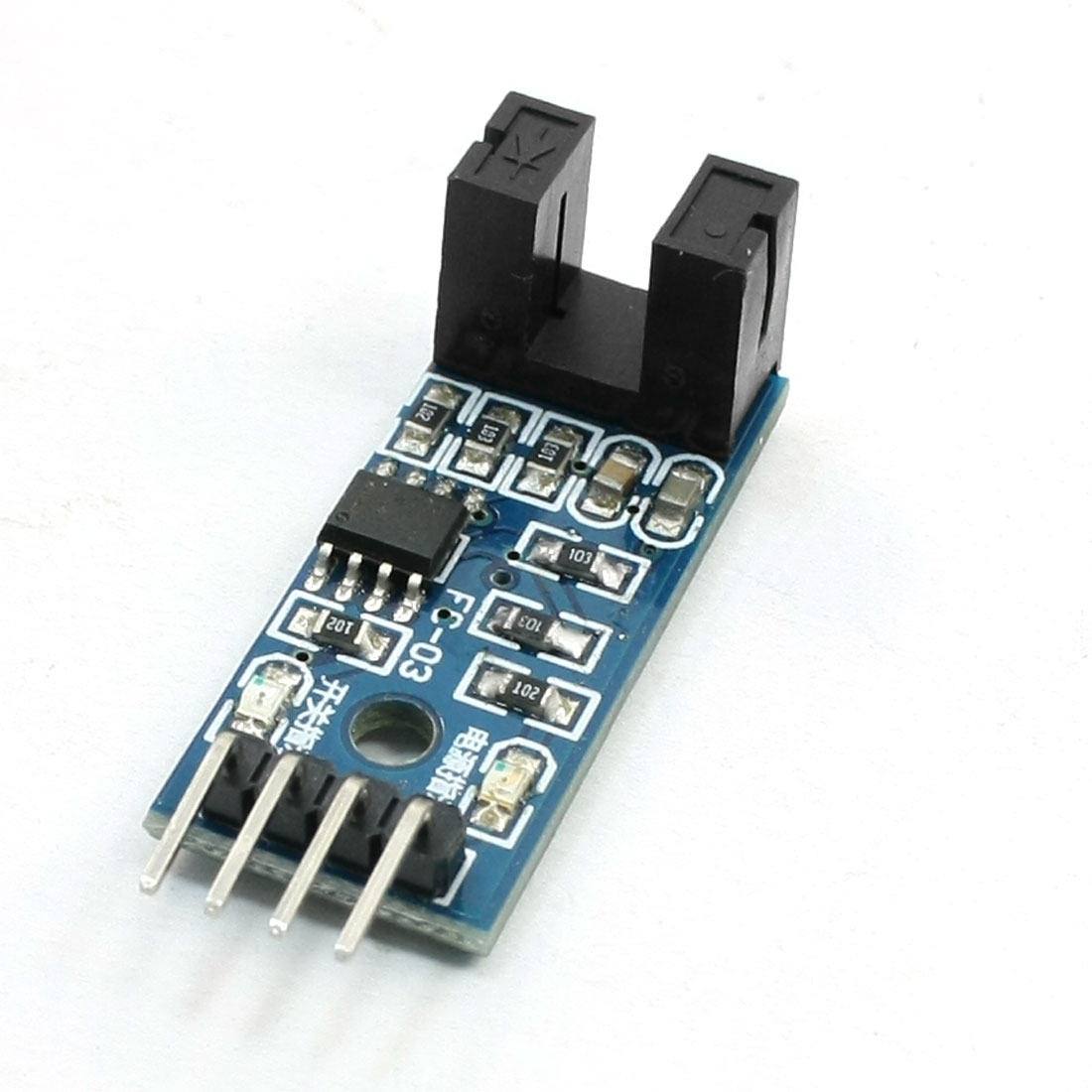 Speed Detection 4 Pin 1CH Velocity Measurement Sensor Module 3.3-5V