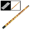 "18.7"" Long Key F Chinese Traditional Bamboo Flute Musical Instrument"