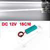 Vehicles Cars Interior 15cm Length White Neon Light Lamp Ornament DC 12V