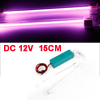 Vehicles Cars Interior 15cm Length Purple Neon Light Lamp Ornament DC 12V