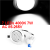 Aluminum Shell 7 Warm White LED Ceiling Lamp Down Light 4000K 7 x 1W