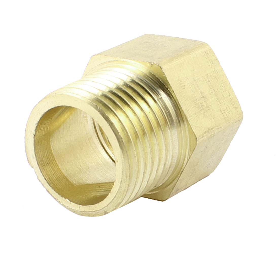 "1/2""PT x 1/2""PT Male to Female Thread Hex Nipples Straight Fittings Joints"