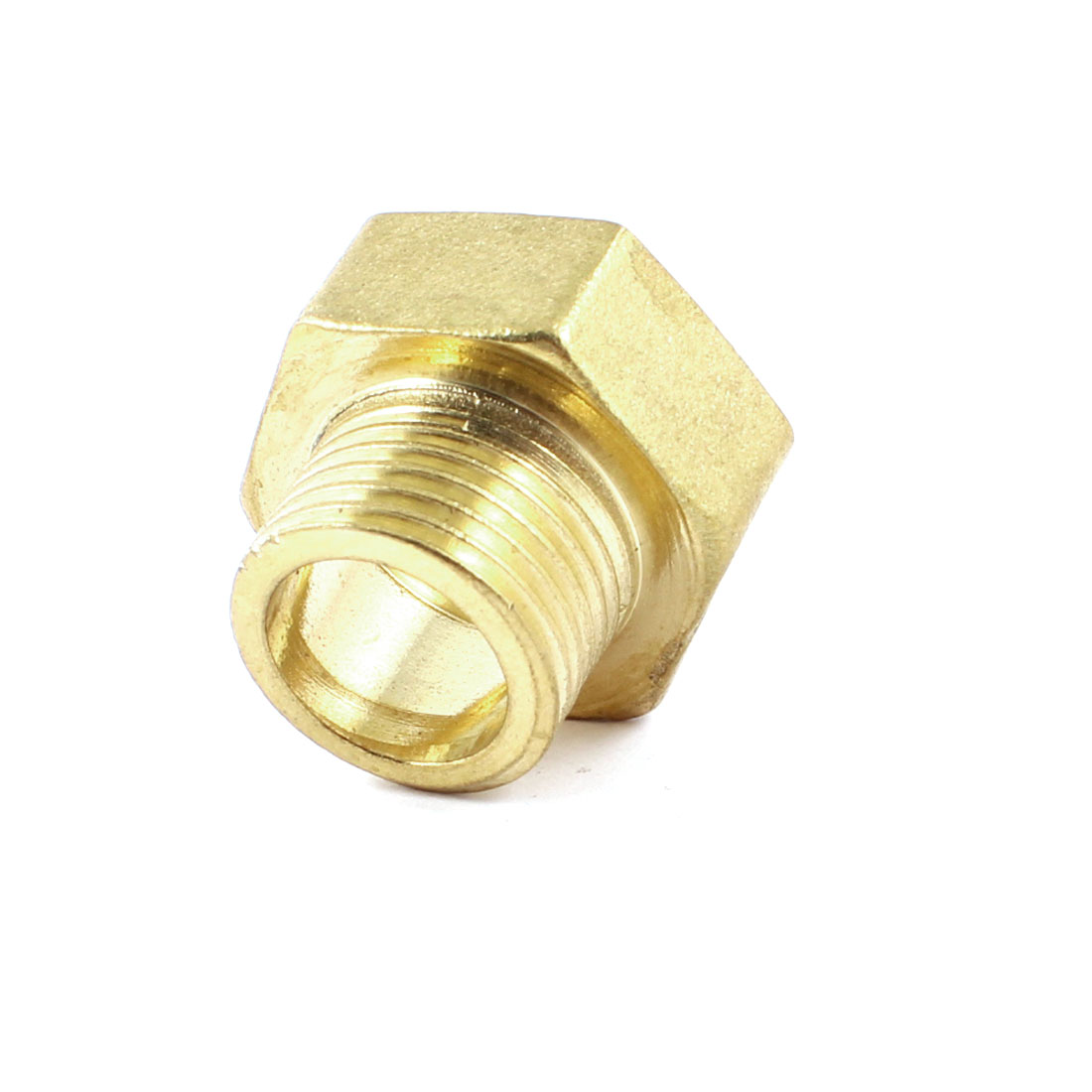 "3/4"" PT Female to 1/2"" PT Male Hex Thread Bushing Piping Connector Adapter"