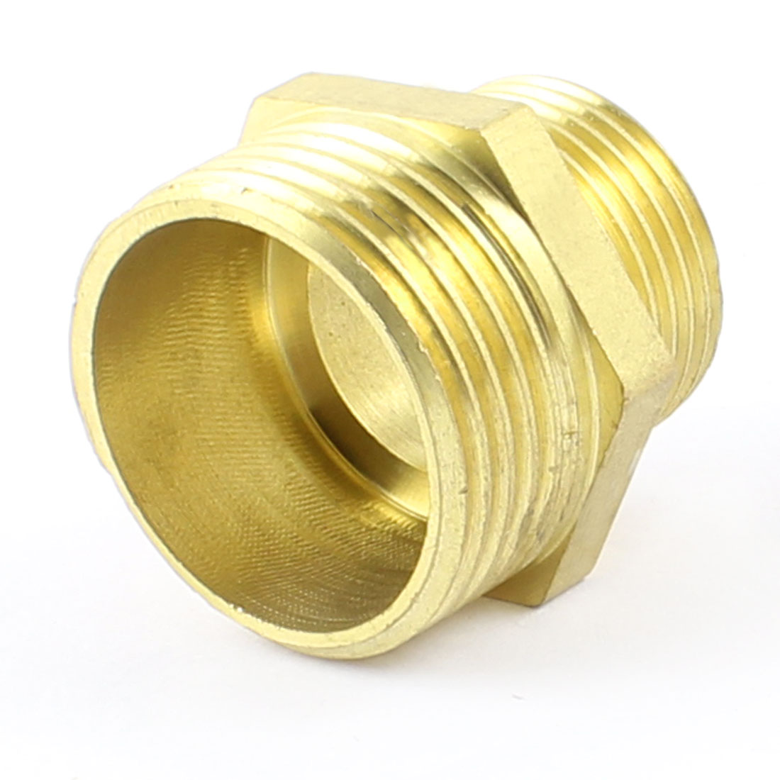 Pipe Union 1 PT x 3/4 PT Male Thread Hex Nipple Reducer Connector