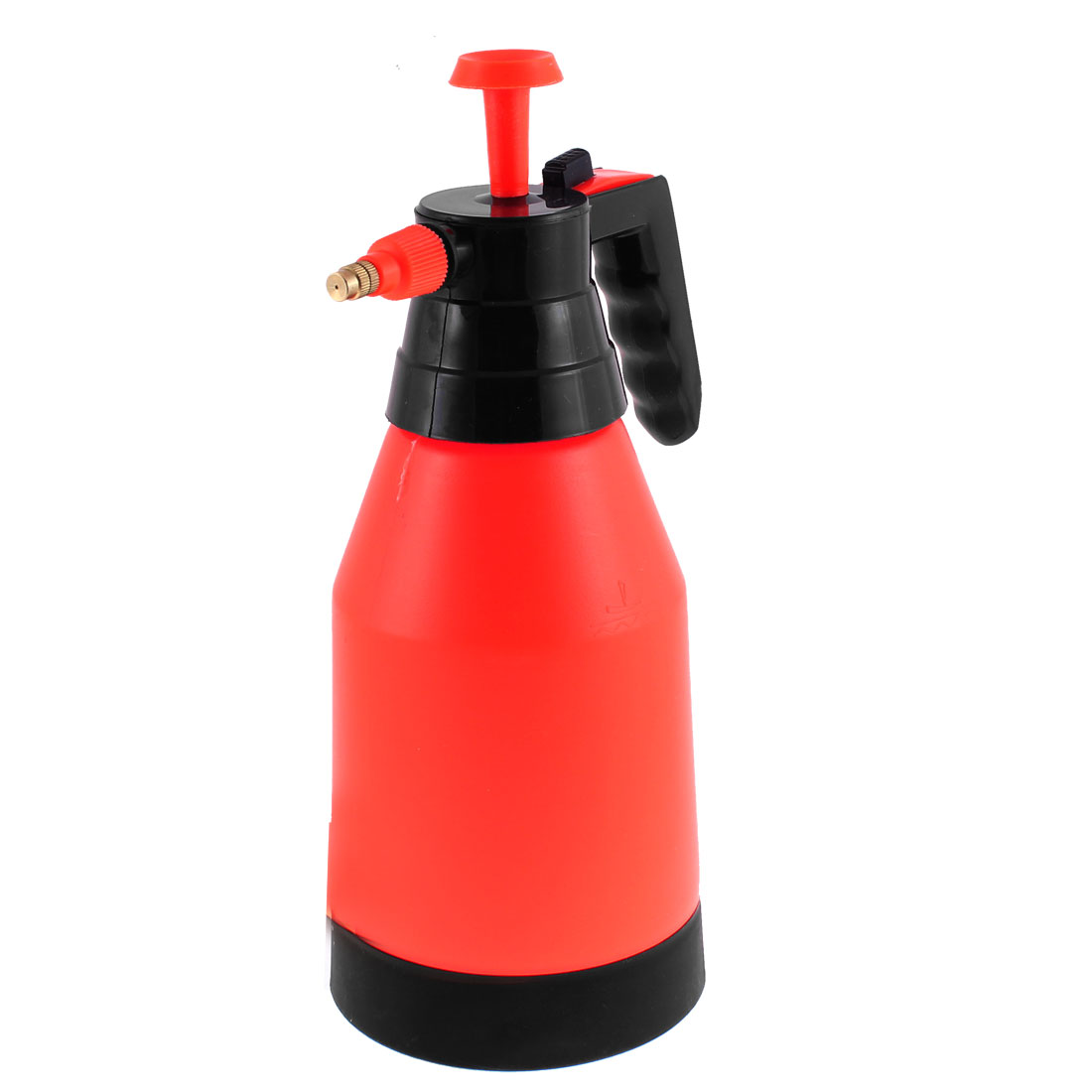 Auto Car Cleaning Tool Black Plastic Handle Orange Body Water Sprayer Bottle 1.5L