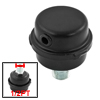 Black Metallic 1/2PT Air Compressor Filter Muffler Replacement