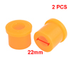 2pcs Auto Suspension Control Shackle Spring Front Bushing Yellow for ISUZU