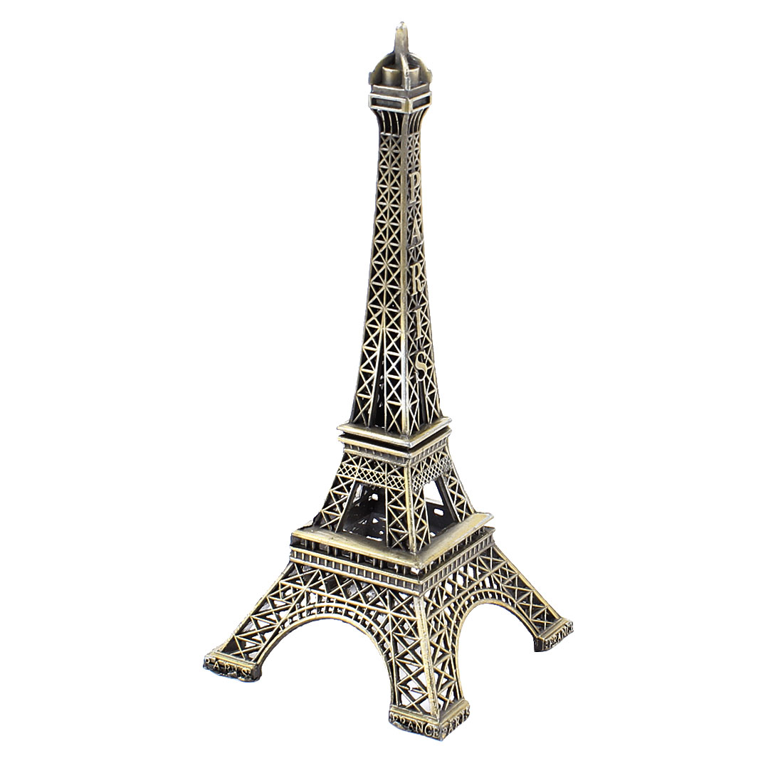 Bronze Tone 13cm High Metallic Paris Eiffel Tower Model Home Decoration